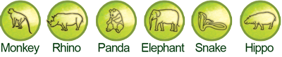 Wild Animals Plant Kits