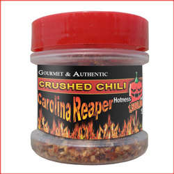 Carolina Reaper Crushed Peppers