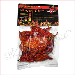 Ghost Pepper Dried
