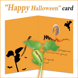 Happy Halloween Nature's Greeting Card