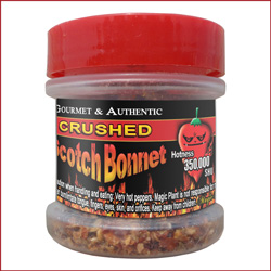 Crushed Scotch Bonnet Peppers