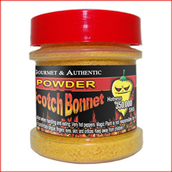 Yellow Scotch Bonnet Chili Powder