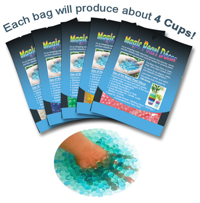 Magi Pearl Decor Nutrient and Water Beads